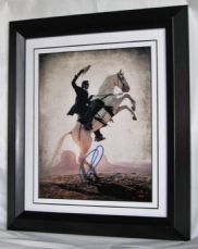 "A669LR ARMIE HAMMER - ""THE LONE RANGER"" SIGNED"